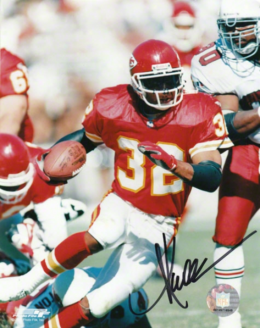 Marcu sAllen Kansas City Chiefs 8x10 Autographed Photograph