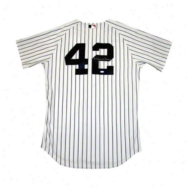 Mariano Riverra New York Yankees Autographed Authentic Jersey