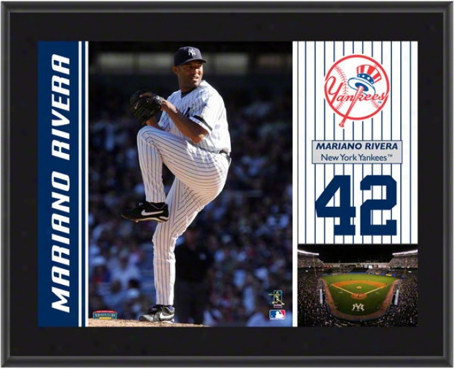 Mariano Rivera Plaque  Details: Just discovered York Yankees Sublimated, 10x13, Mlb Poaque