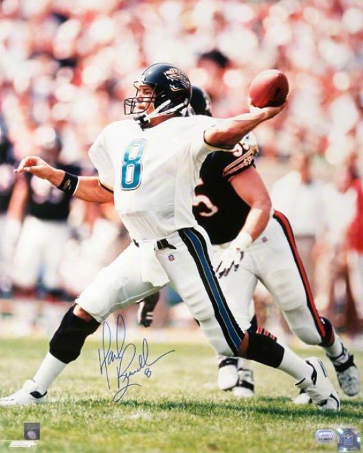 Mark Brunell Jacksonville Jaguars 16x20 Autographed Photograph