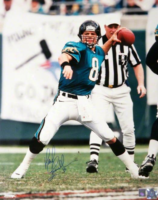 Mark Brunell Jacksonville Jaguars - Throwing - 16x20 Autographed Photograph