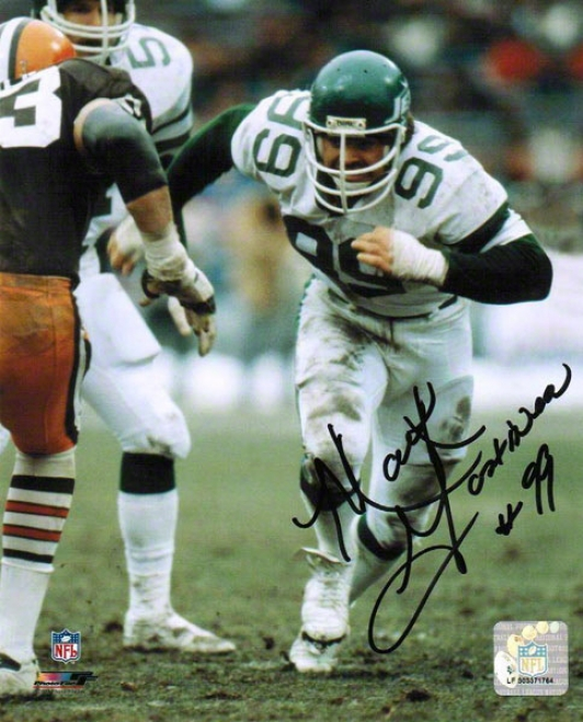 Mari Gastineau Autographed New York Jets 8x10 Photo
