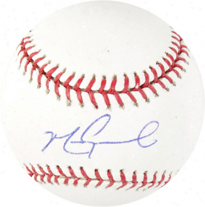 Mark Grace Chicago Cybs Autographed Baseball