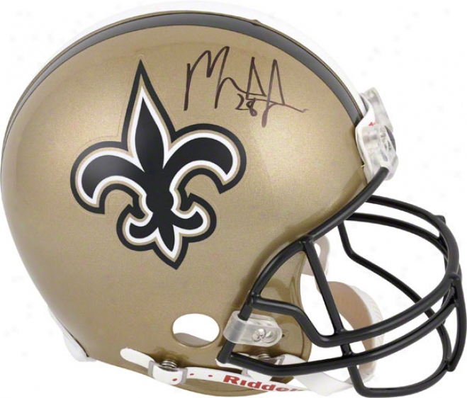 Mark Ingram Autographed Pro-ilne Helmet  Details: New Orleans Saints, Authentic Riddell Helmet, Riddsll Authentic Helmet