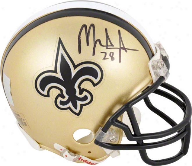 Mark Ingram New Orleans Saints Autographed Mini Helmet