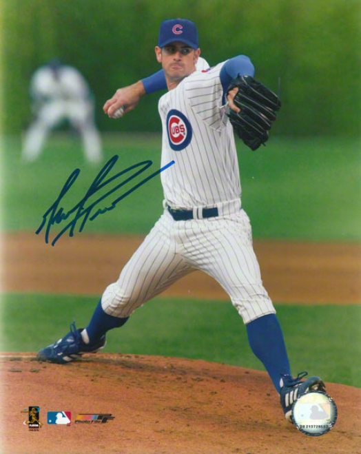 Mark Prior Chicago Cubs Autographed 8x10 Photo