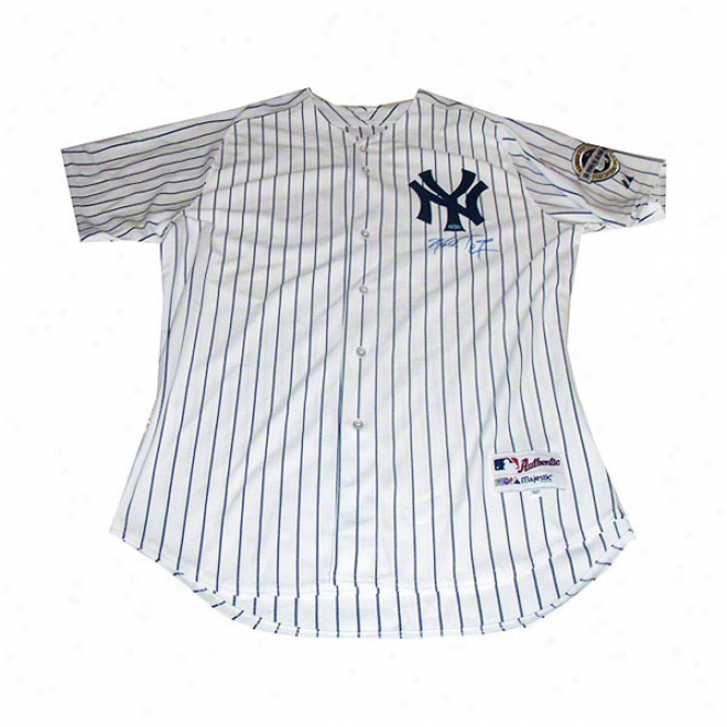 Mark Teixeira Just discovered York Yankees Autographed Authentic Jersey