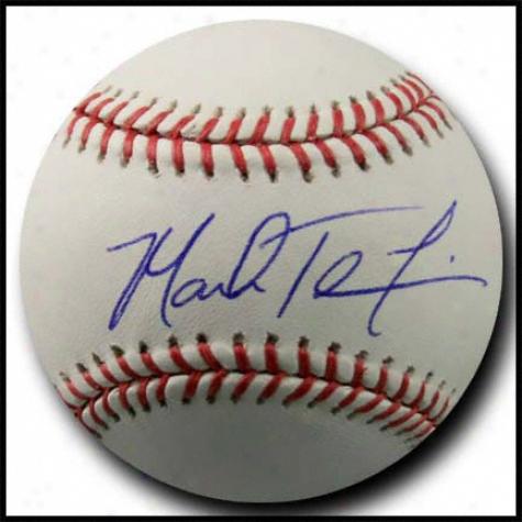 Mark Teixeira Signed Official Major League Baseball