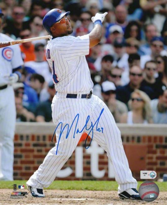 Marlon Byrd Chicago Cubs Autographed 8x10 Photograph