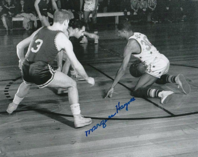 Marques Haynes Harlem Globetrotters Autographed 8x10 Photograph