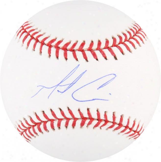Matt Cain Autographed Baseball