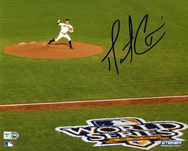 Matt Cain Autographed Photograph  Details: San Francisco Giants, 81x0, 2010 World Series