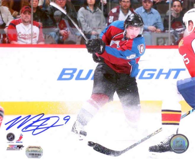 Matt Duchene Autographed Photograph  Details: Colorado Avalanche, Home Uniform, 8x10