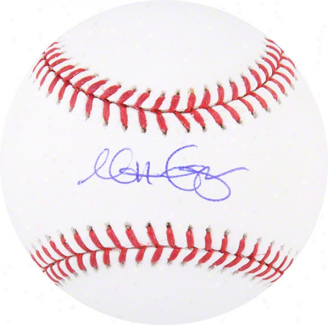Matt Garza Autographed Baseball