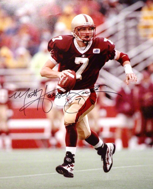 Matt Hasselbeck Boston College Eagles Autographed 16x20 Photo