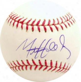 Ma Holliday Autographed Baseball