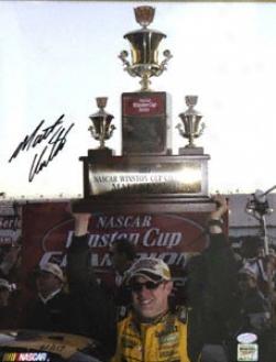 Matt Kenseth Autographed 11x14 Photograph