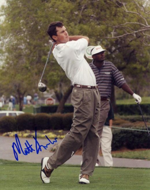Matt Kuchar 8x10 Autographed Photograph