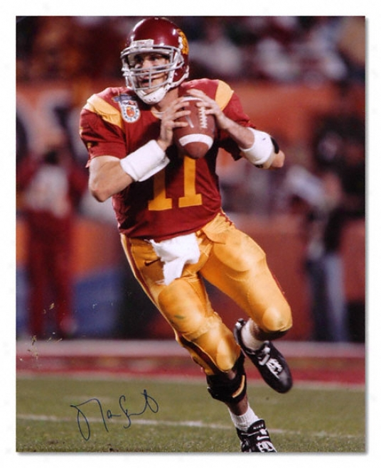 Matt Leinart Usc Trojans - Orange Bowl - Autographed 16x20 Photograph