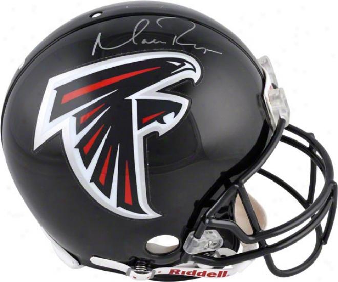 Matt Ryan Autographed Pro--line Helmet  Particulars: Atlanta Falcons, Authemtic Riddell Helmet
