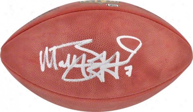 Matthew Stafford Autographed Football  Details: Detroit Lions, Pro Football