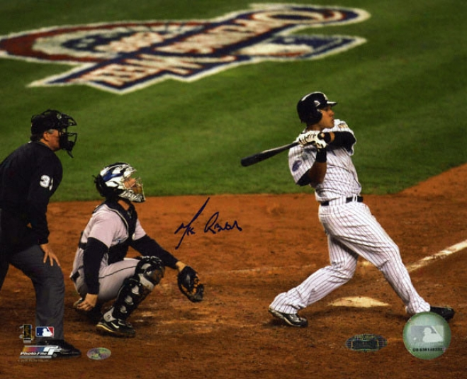 Melky Cabrera New York Yankees - 2008 Olening Day Hr - Autograpphed 8x10 Photograph
