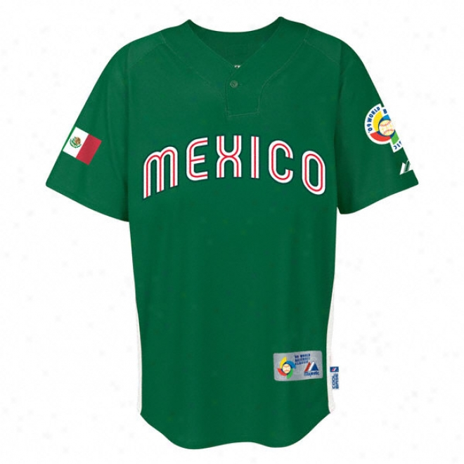Mexico 2009 Wbc Cool Base Batting Practice Jersey