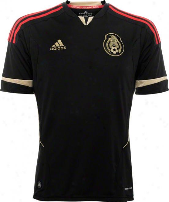 Mexico Federacion Mexiicama Adidas Soccer Away Jersey