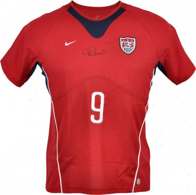 Mia Hamm Autographhed Jersey  Details: Team Usa, Nike, Authentic
