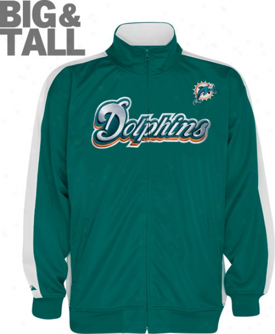 Miami Dolphins Big & Tall Qb Course Jacket