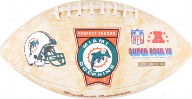 Miami Dolphins Perfect Season Foto Fooball