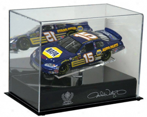 Michael Waltrip 1/24th Die Cast Display Case With Platform