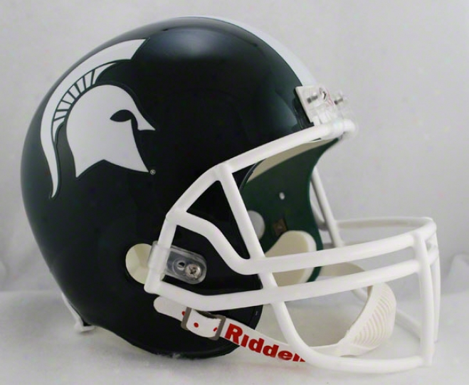 Michigan State Spartans Deluxe Replica Riddell Helmet