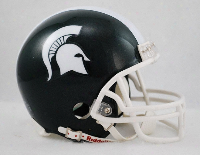 Michigan State Spartans Riddell Mini Helmet