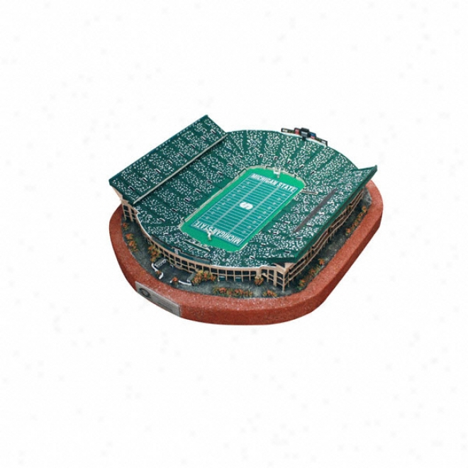 Michigan State Spartans Spartan Stadium Replica - Platinum Series