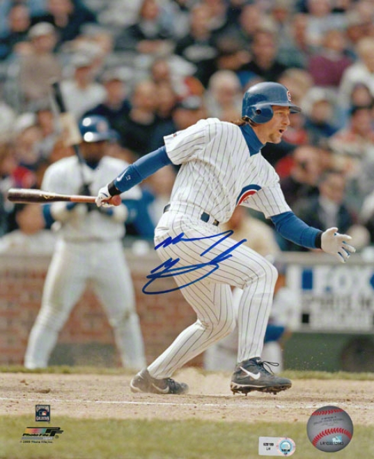 Mickey Morandini Chicago Cubs Autographed 8x10 Photograph