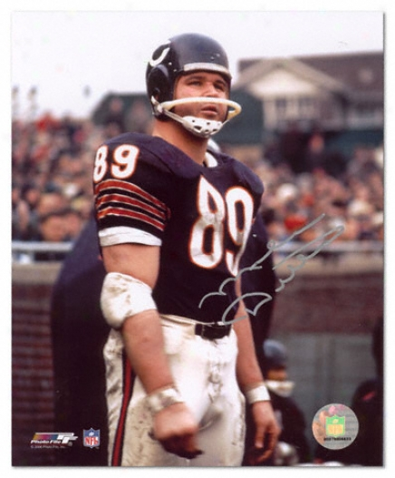 Mike Ditka Chicago Bears - On Sideline - 8x10 Autographed Photograph