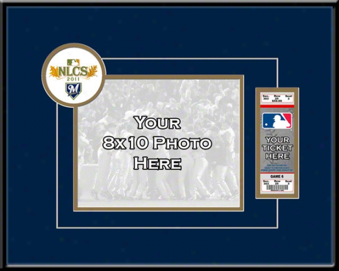 Milwaukee Brewers 2011 National Alliance Championship Series Your 8x10 Photo Ticket Fame