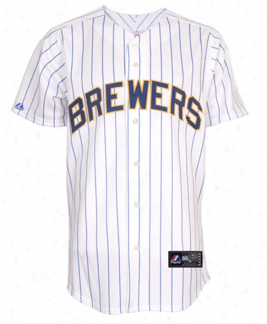 Milwaukee Brewers Alternate Home Mlb Replica Jersey
