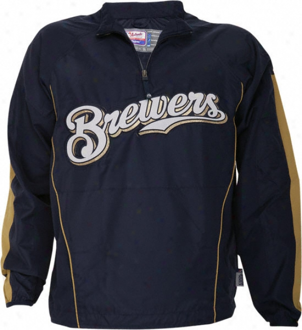 Milwaukee Brewers Authentic Collection Cool Base Gamer Jacket