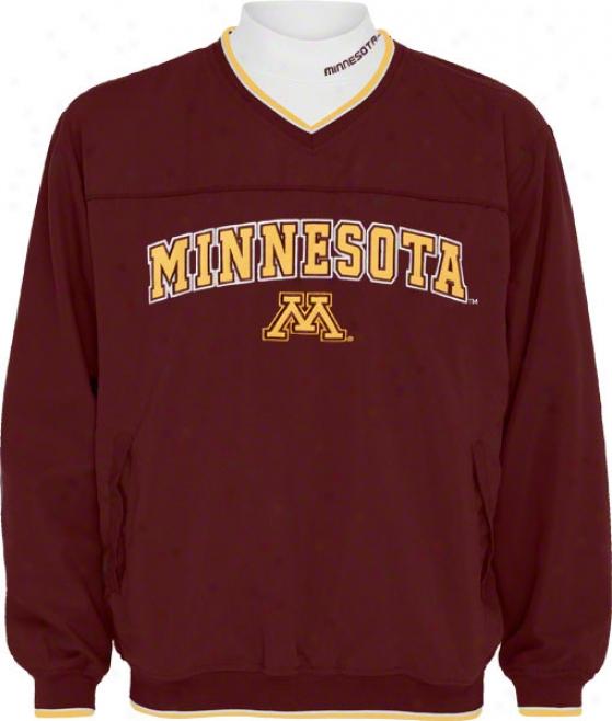 Minnesota Golden Gophers Windshidt/long Sleeve Mockneck Combo Pack