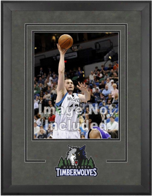 Minnesota Timberwolves 16x20 Vertical Setup Frame With Team Logo