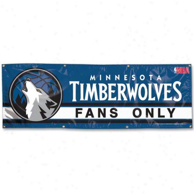 Minnesota Timbereolves 2x6 Vinyl Banner