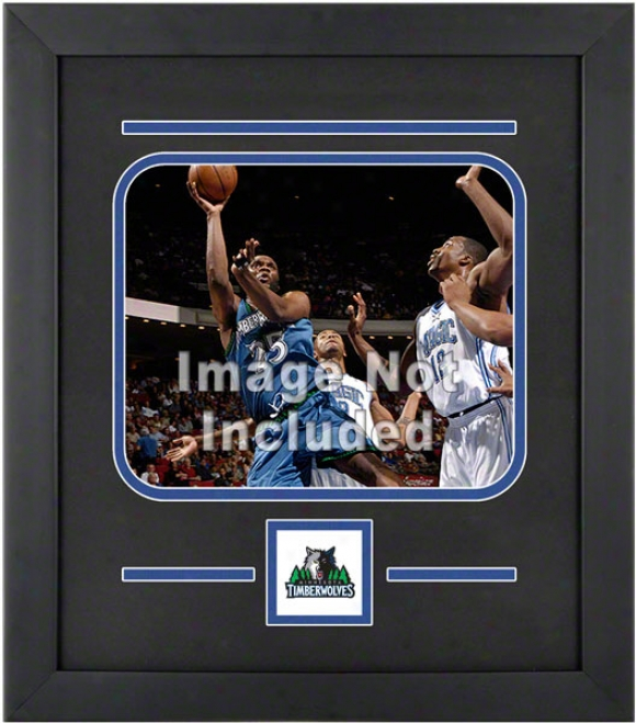 Minnesota Timberwolves 8x10 Horizontal Setup Invent With Team Logo