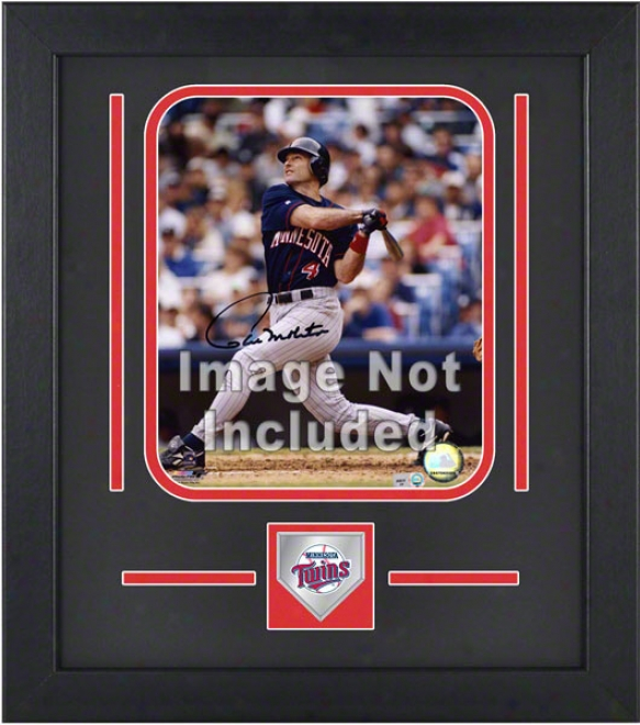 Minnesota Twins 8x10 Vertical Setup Frame With Team Logo