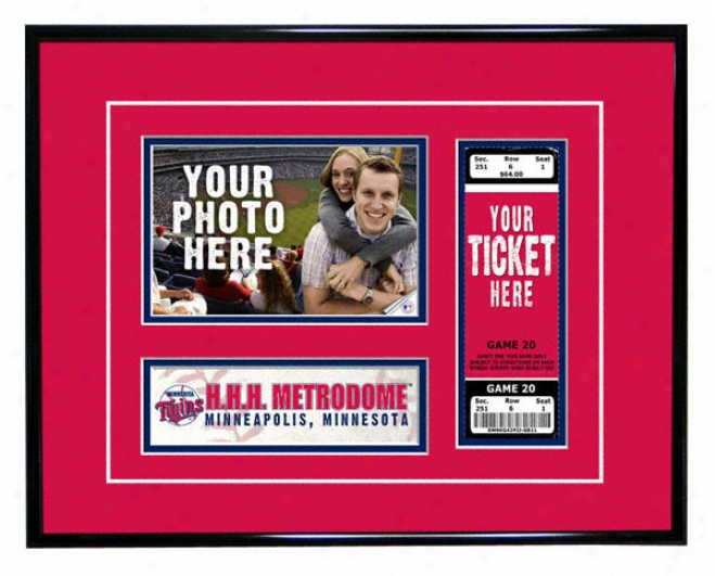 Minnesota Twins - Game Day - Ticket Frame