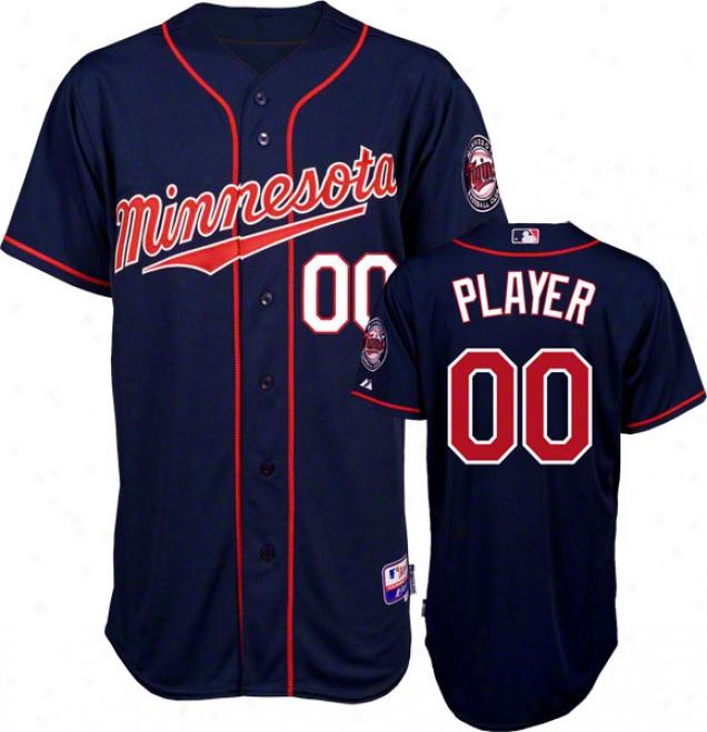 Minnesota Twins Jersey: Any Player Alternate Ships of war Authentic Cool Baseã¢â�žâ¢ On-field Mlb Jersey