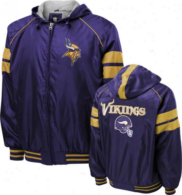 Minnesota Vikings Dedication Full-zip Lightweight Jacket