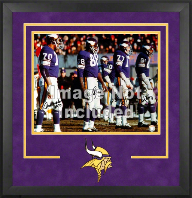 Minnesota Vikings Deluxe 16x20 Horizontal Photograph Frame