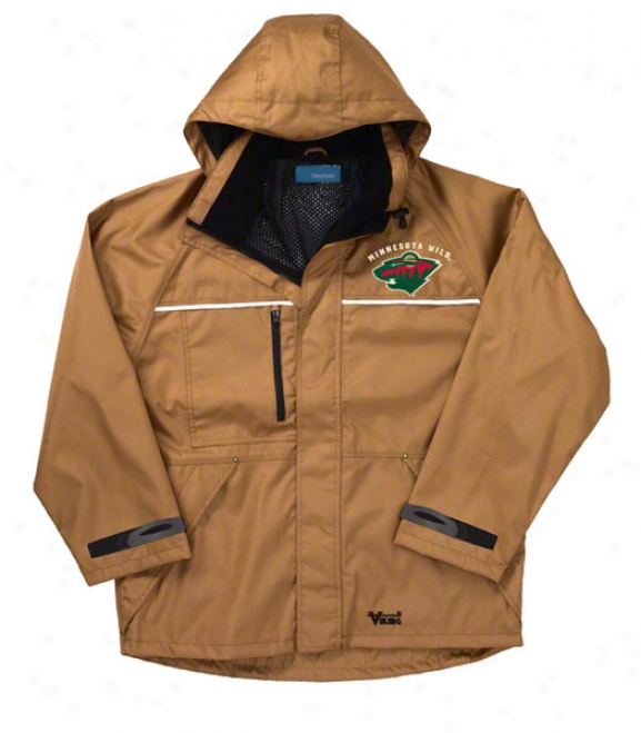 Minnesota Wild Jacket: Brown Reebok Yukon Jacket